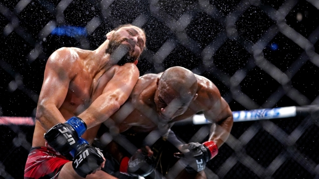 UFC welterweights Kamaru Usman, Jorge Masvidal