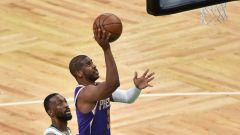 Boston Celtics point guard Kemba Walker, Phoenix Suns point guard Chris Paul
