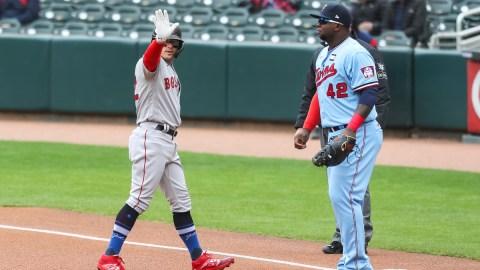 Boston Red Sox Utility Player Kiké Hernandez