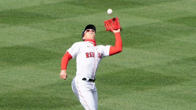 Boston Red Sox second baseman Kiké Hernández