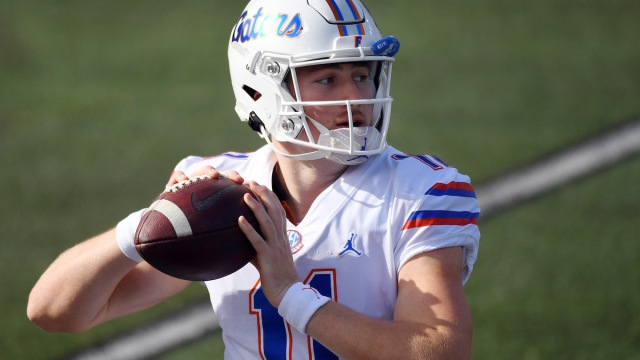 Florida NFL Draft prospect and potential Patriots quarterback Kyle Trask