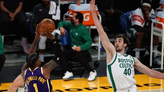 Boston Celtics center Luke Kornet