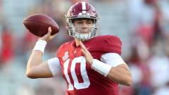 Alabama and potential Patriots quarterback Mac Jones