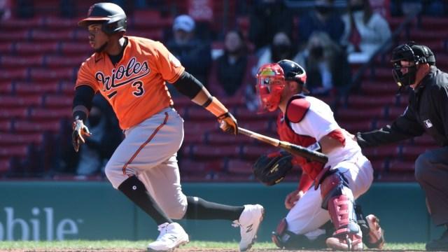 Baltimore Orioles third baseman Maikel Franco