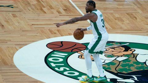 Boston Celtics guard Marcus Smart