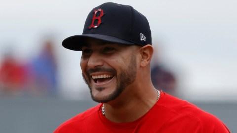 Boston Red Sox Pitcher Martín Pérez