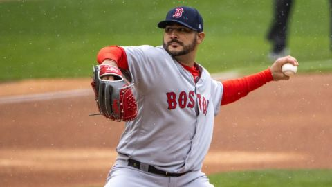 Boston Red Sox starter Martín Pérez