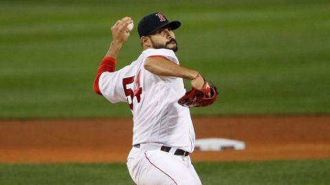 Boston Red Sox starter Martín Pérez
