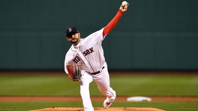 Boston Red Sox pitcher Martin Perez