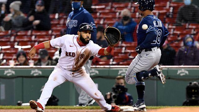 Boston Red Sox infielder/outfielder Marwin Gonzalez