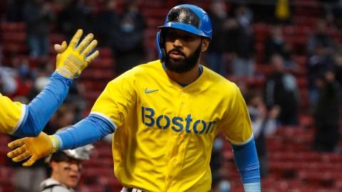 Boston Red Sox utilityman Marwin Gonzalez