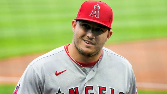 MLB odds: Los Angeles Angels outfielder Mike Trout