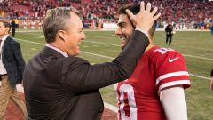 NFL Draft: John Lynch, Jimmy Garoppolo