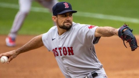 Boston Red Sox Pitcher Nathan Eovaldi