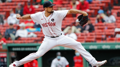 Boston Red Sox Starting Pitcher Nathan Eovaldi