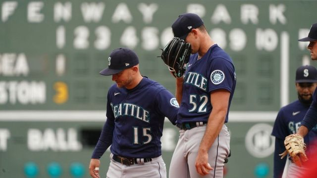 Seattle Mariners starter Nick Margevicius