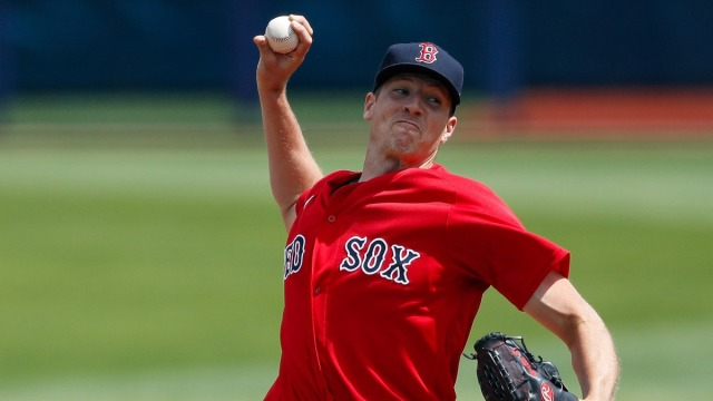 Boston Red Sox Pitcher Nick Pivetta