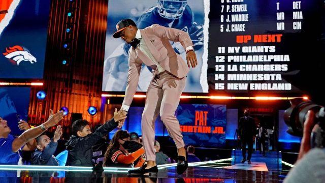 Denver Broncos draft pick Patrick Surtain Jr.
