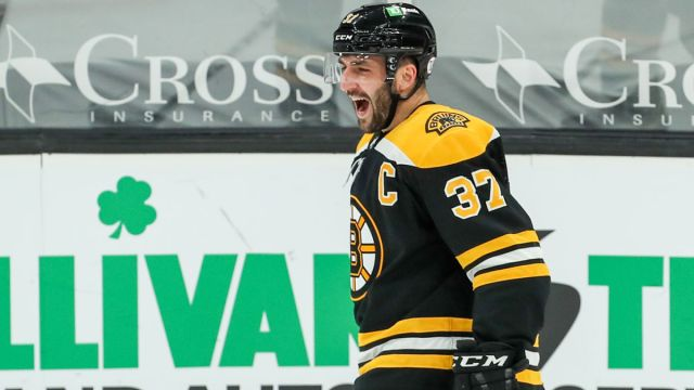 Boston Bruins center Patrice Bergeron