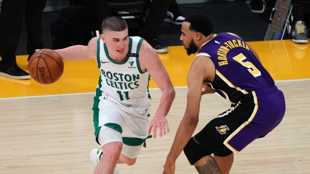 Boston Celtics point guard Payton Pritchard