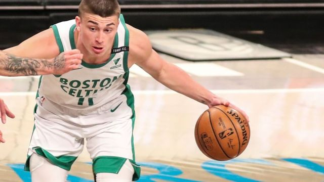 Boston Celtics guard Payton Pritchard