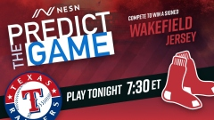 """NESN Games' Red Sox vs. Rangers """"Predict The Game"""""""