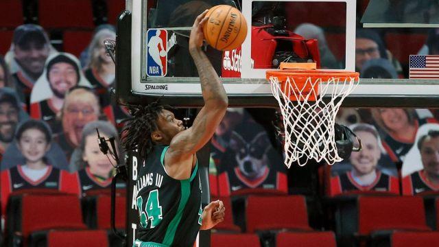 Boston Celtics center Robert Williams