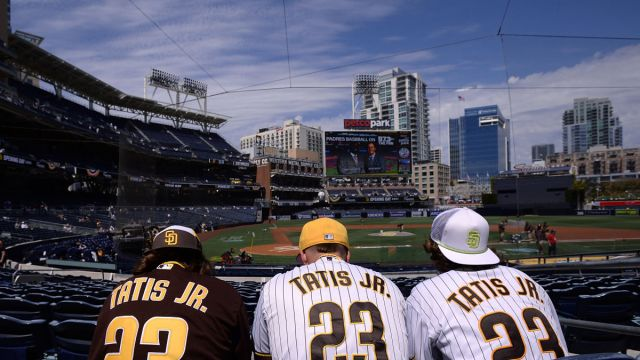 San Diego Padres fans