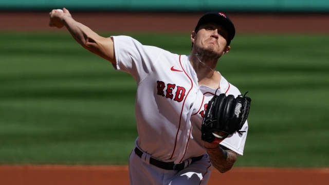 Boston Red Sox starting pitcher Tanner Houck