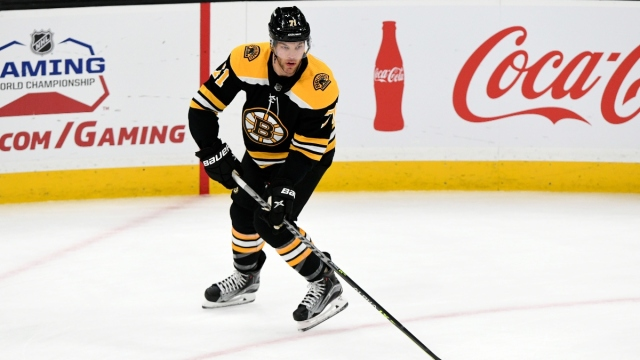 Boston Bruins left wing Taylor Hall