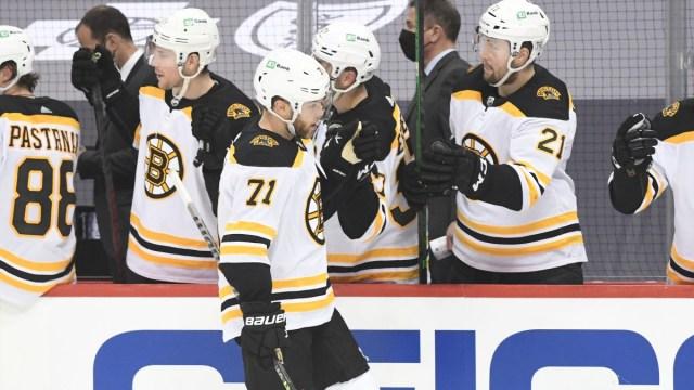 Boston Bruins Left Winger Taylor Hall