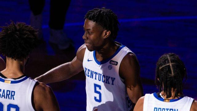 Former Kentucky basketball wing Terrence Clarke