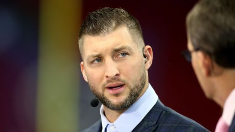 Former NFL quarterback Tim Tebow