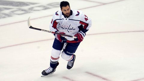 Washington Capitals right wing Tom Wilson