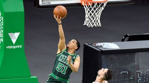 Boston Celtics guard Tremont Waters