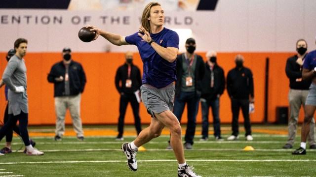 NFL Draft prospect Trevor Lawrence