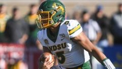 North Dakota State quarterback Trey Lance