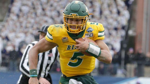 NFL draft prospect Trey Lance