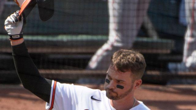 Baltimore Orioles first baseman Trey Mancini