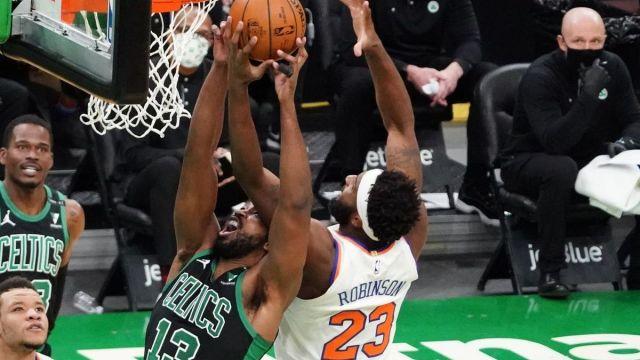 Boston Celtics center Tristan Thompson