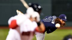 Tampa Bay Rays starting pitcher Tyler Glasnow