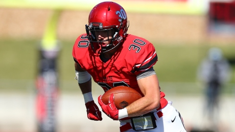Central Missouri tight end Zach Davidson