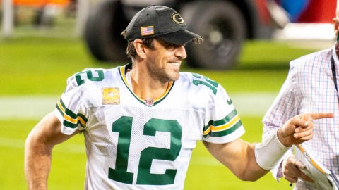 Green Bay Packers quarterback Aaron Rodgers