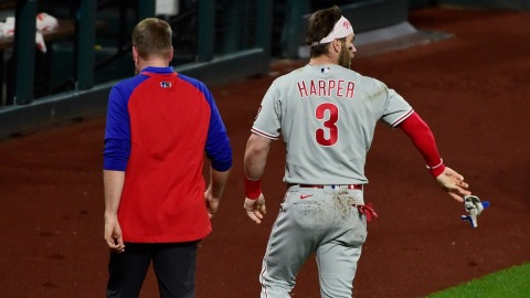 Philadelphia Phillies right fielder Bryce Harper
