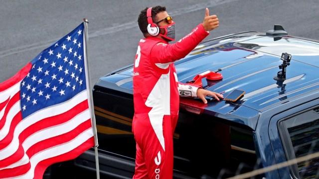 NASCAR Cup Series driver Bubba Wallace