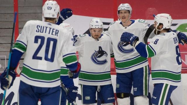 Vancouver Canucks center Jayce Hawryluk