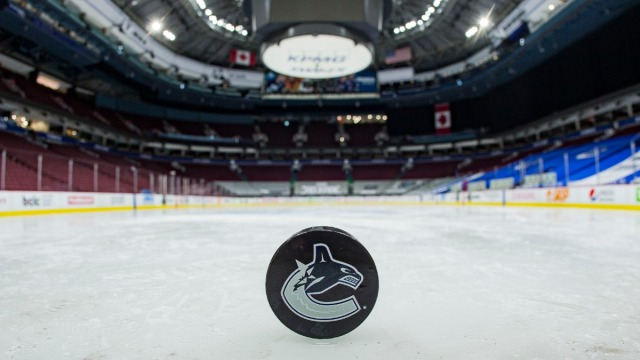 Vancouver Canucks puck