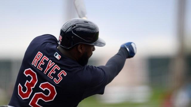 Cleveland Indians right fielder Franmil Reyes