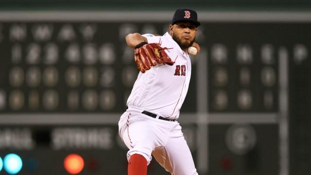 Boston Red Sox relief pitcher Darwinzon Hernandez