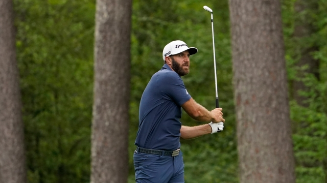 Professional Golfer Dustin Johnson